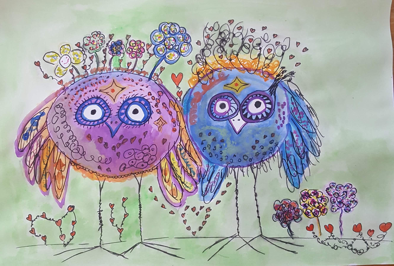 Malen lernen mit Clarissa Hagenmeyer