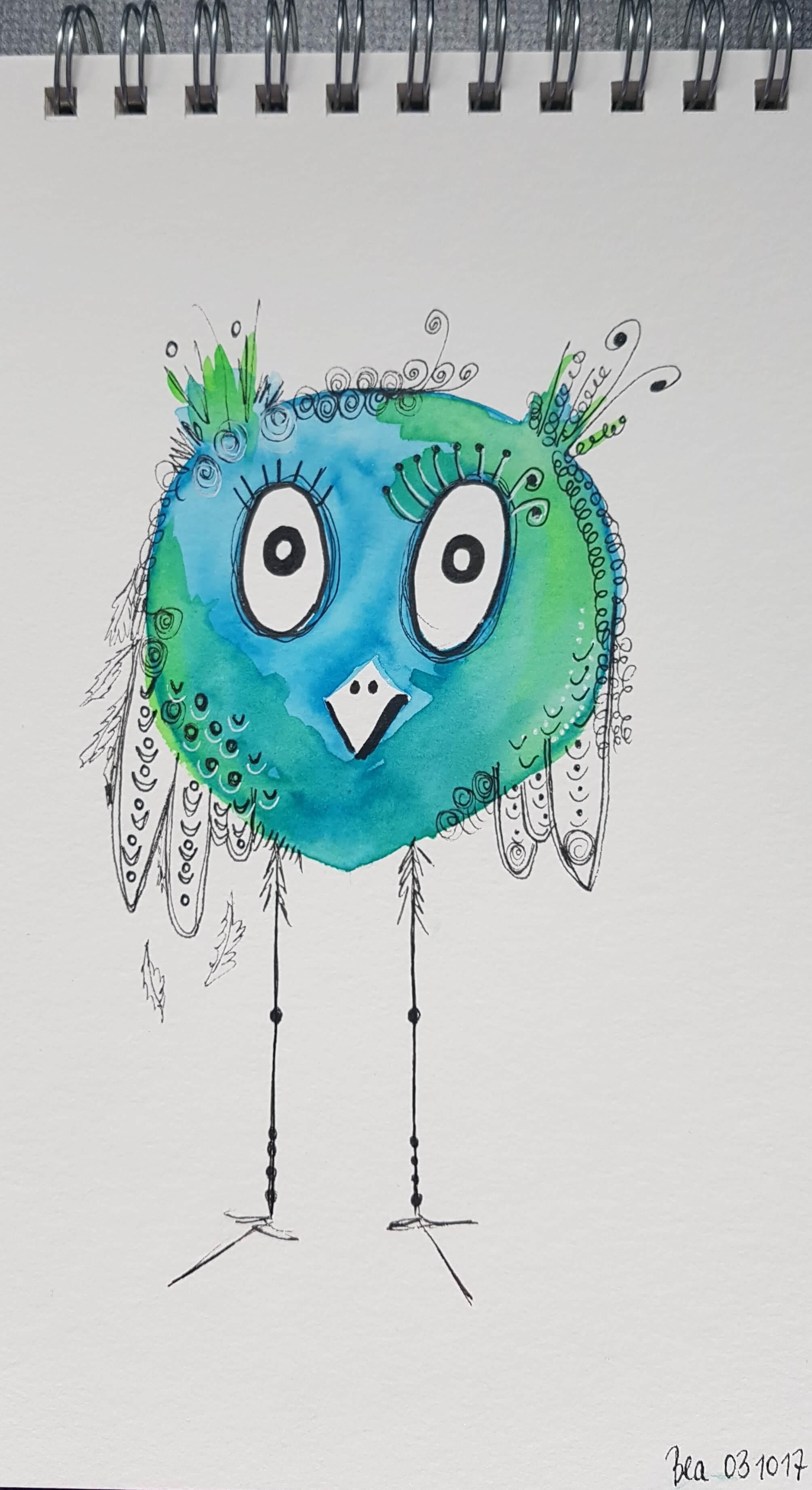 Beatrix Happy Bird
