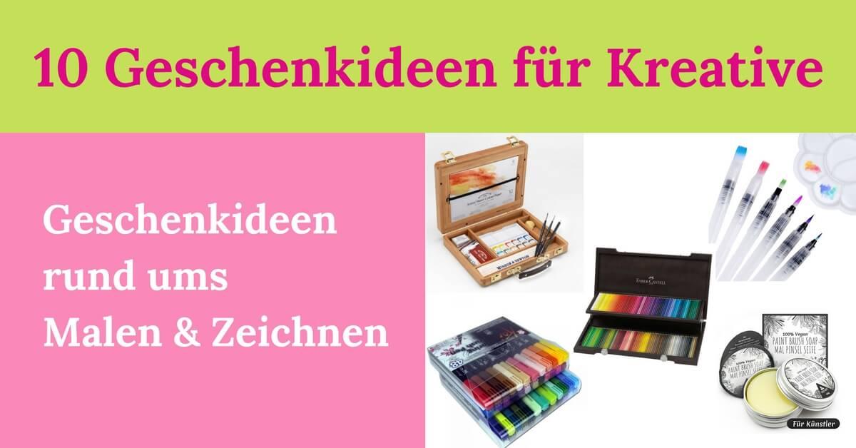 10 geschenkideen f r kreative zum malen und zeichnen. Black Bedroom Furniture Sets. Home Design Ideas