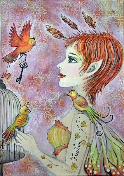 """""""Freedom"""" von Susanne Arendt"""