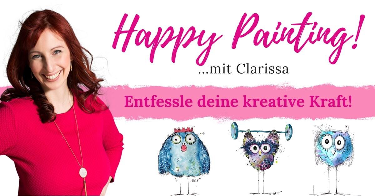 Happy Painting mit Clarissa