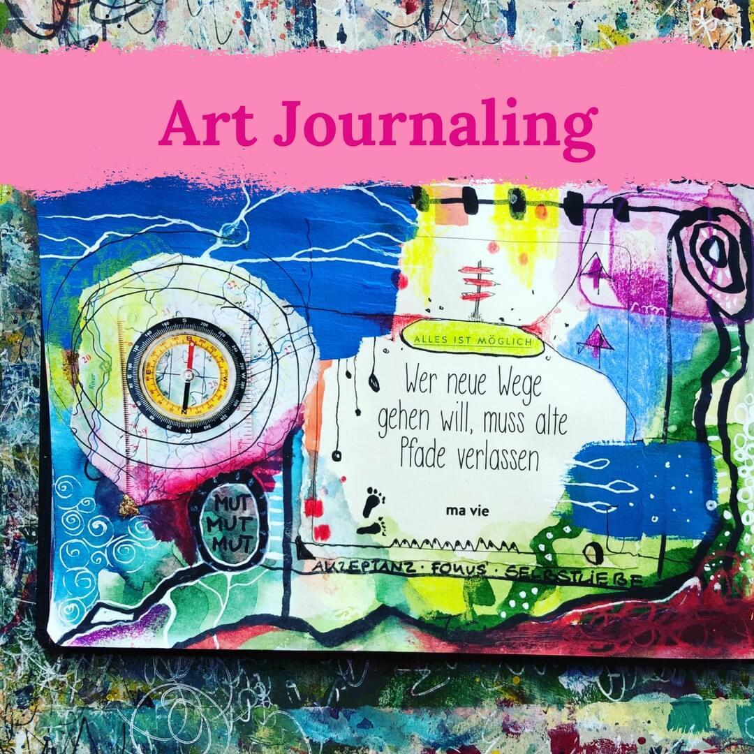 Art Journaling Kurse
