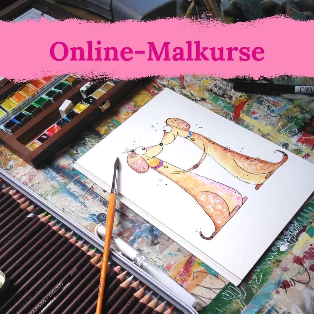 Online-Malkurse