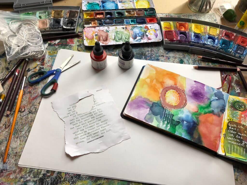 Art Journal Tipps und Empfehlungen