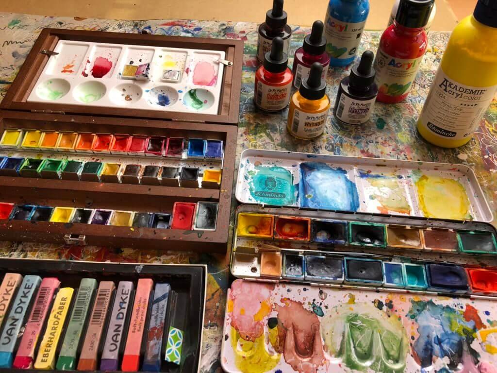 Farben fürs Art Journaling