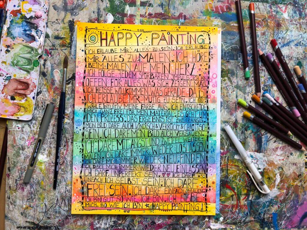 Happy Painting Manifest