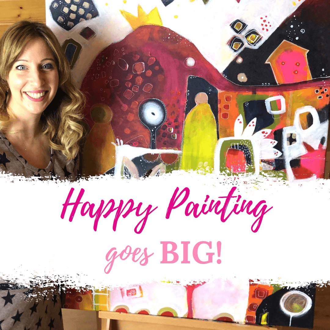 Happy Painting goes BIG